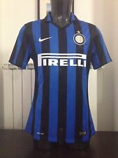 MAGLIA SHIRT TRIKOT NIKE INTER MILAN 2015-16 AUTHENTIC PLAYER tg M  NUOVA BNWT
