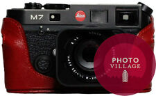 Black Label Bag Leica M4 M6 M7 MP Half-case in Red