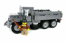 Custom M35 US Army WW2 Truck w/ minifigure made with real LEGO® bricks
