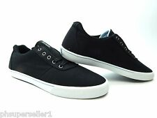 USED SUPRA CUTTLER LOW BLACK WHITE MEN SHOES SIZE 10