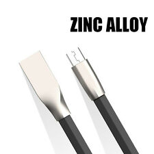 Zinc Alloy Micro USB V8 Data Sync & Charging cable for All Android Smartphones