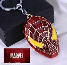 SPIDERMAN Spidey Spider Man Civil war suit Keychain collectible cosplay MARVEL