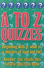 Categorically Quizzes: A to Z Quizzes (Categorical Quizzes), Christopher Rigby