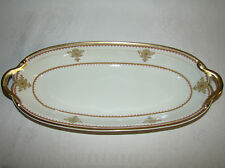 "GDA FRANCE CH Field Haviland Limoges 2 Handled Serving Bowl 13 1/8"" x 5 1/2"""