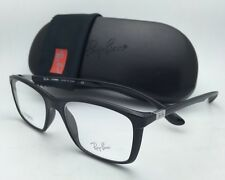 New RAY-BAN Eyeglasses LITEFORCE RB 7036 5206 52-17 145 Shiny Black Frames