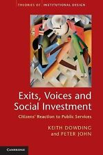 Exits, Voices and Social Investment: Citizens' Reaction to Public Services (Theo