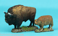 Buffalo (2) 20mm metal miniature Warhammer Miniature Unpainted Historical