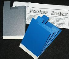 Pocket Card Index -- Q5 model  (Pat Page / Corinda) -- practical and easy   TMGS