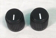 2 x OFFICIAL AMPEG D-Shaft BASS Amp Knobs~ Genuine~ Replacement Ampeg~