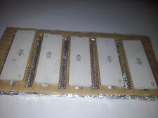 BIG USSR CPU microchip IC gold scrap or collection rare