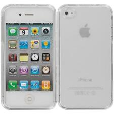 For Apple iPhone 4S 4 Clear Crystal Transparent Hard Snap-On Case Cover