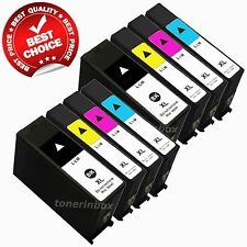 8 Pack 100XL Ink Cartridge For Lexmark S301 S305 S405 S505 S605 S815 S816