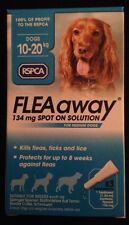 RSPCA FLEAaway 134mg Spot On Solution Medium Dogs 3 Pack Flea & Tick treatment