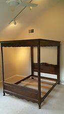 VINTAGE Queen Size CANOPY BED FRAME BY HENREDON