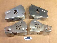 Yamaha Wolverine R-Spec Aluminum CV Boot Guards A-Arm Guards Set Front Rear