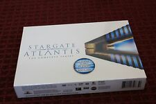 Stargate Atlantis: The Complete Series (DVD, 2010, 28-Disc Set) *Brand New*