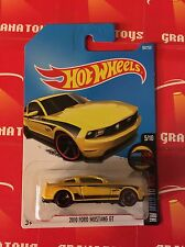 2010 Ford Mustang GT #60 Yellow 2016 Hot Wheels Case M