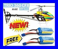 BLADE TRIO 360 CFX BNF BASIC RC R/C HELICOPTER WITH 2X 6S FREE BATTERY BLH4755 !