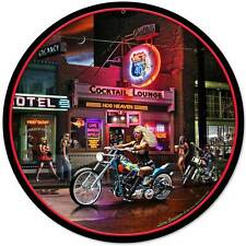 Vic's Highway 40 Biker Bar Babe Metal Sign Man Cave Garage Club Grossman LG008