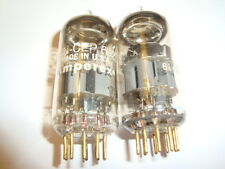 One Matched Pair of USN-CEP- 6922 Gold Pin Tubes, By Amperex USA