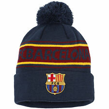 Official FC Barcelona Bobble Beanie Hat    FREE (UK)  P+P