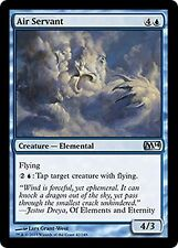 Air Servant   x4  EX/NM JAPANESE M14 Core Set MTG Magic Cards Blue Uncommon