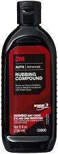 3M 03900 Auto Car Advanced Rubbing Compound 8 oz. Brand New. FREE SHIPPING