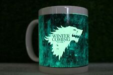 Winter Is Coming Game Of Thrones Stark Glow In The Dark Mug Fluorescent Shining