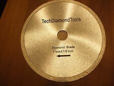 Continuous diamond saw blades 7 inch