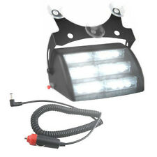 HQRP 18 LED Luz estroboscópica de color blanco / luces de tablero de emergencia