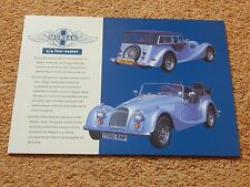 Morgan 4/4 1800 4-seater specification sheet - 1999/2000 (no emissions data)
