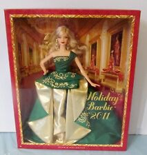 NEVER REMOVED FROM BOX 2011 HOLIDAY BARBIE DOLL