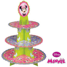 Wilton Disney MINNIE MOUSE Cupcake Treat Stand 3 Tier; Birthday Party Theme!