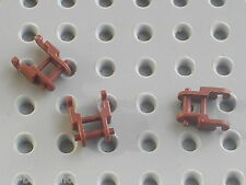 3 maillons de chaine LEGO TECHNIC 3711 RedBrown chain link / 7670 Hailfire Droid