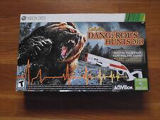 Cabela's Dangerous Hunts 2013 [Bundle] (Xbox 360, 2013) **** Factory Sealed ****