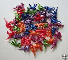 48 Mini Plastic Dino Dinosaur Figures Toy Kid Party Goody Loot Bag Favor Supply