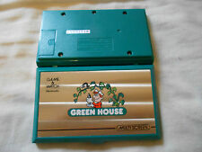 CONSOLA NINTENDO GAME & WATCH GREEN HOUSE MULTISCREEN MAQUINITA MOD. GH-54