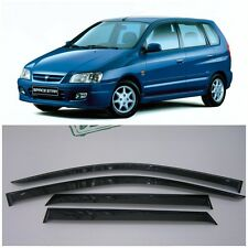 For Mitsubishi Space Star 1998-2004 Window Visors Sun Rain Guard Vent Deflectors