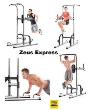 Golds Gym Station Pull Up Push UP Chin Up Bar Exercise Dip Fitness Arms Abs Back