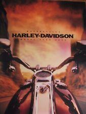 2000 Harley Davidson Prestige Brochure, Full Line, HUGE 64 pgs Electra Glide