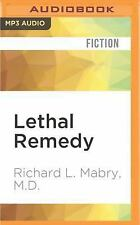 Prescription for Trouble: Lethal Remedy 4 by Richard L. Mabry (2016, MP3 CD,...