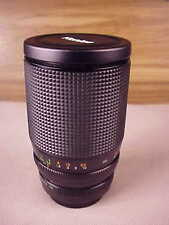 KONICA ZOOM HEXANON AR 28~135 MM  F 4~4.6 LENS WITH CASE