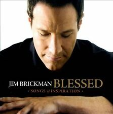 "Jim Brickman ""Blessed - Songs of Inspiration"" CD Brand New Factory Sealed"