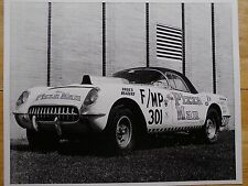 "1960s NHRA Drag Racing-""the Pizza man""-1954 F/MP Corvette-Earl Britt-NHRA Champ"