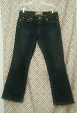 LEVI'S 545 Women's Low Boot Cut Jeans Sits On Hips Size 6  36L x 32W