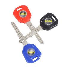 3 x Blank Blade Uncut motorcycle Key for Honda CBR 400 600 954 1000RR 1100RR