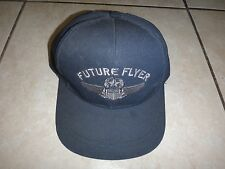 US Air Force FUTURE FLYER Hat With Snapback, Made In USA *New Unworn*