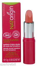 NATOrigin Organic 100% Natural LIPSTICK 3g PAPAYE/PAPAYA Nude Peach
