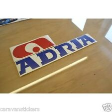 ADRIA Classic Caravan Logo Sticker Decal Graphic - SINGLE