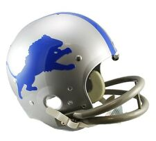 DETROIT LIONS 62-68 TK THROWBACK FULL SIZE FOOTBALL HELMET